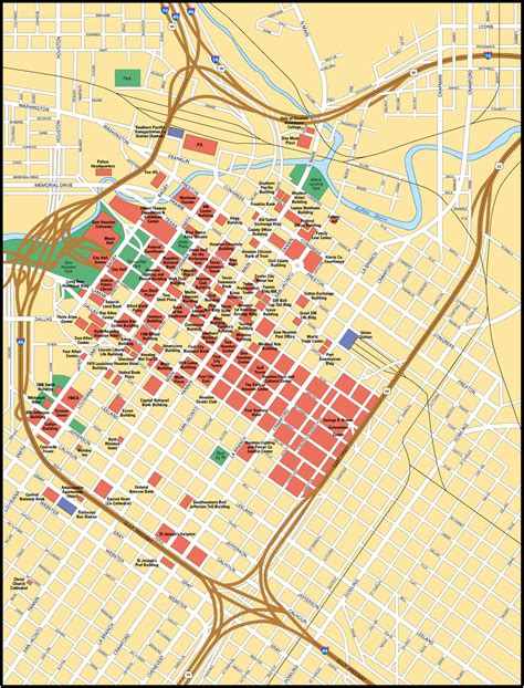 houston on a map of usa map of houston city maps of united states planetolog