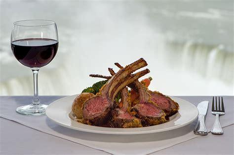 dinner menu revolving dining room  skylon tower