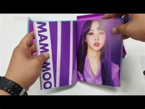 Mamamoo Purple Mint ktown4u unboxing mamamoo mini album vol 5 purple