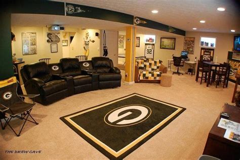 green bay packers bedroom ideas green bay packer room such a huge nice man cave green