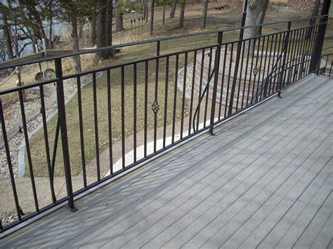 Iron Porch Railing Metal Deck Railing Steel Metal Deck Railing Heritage