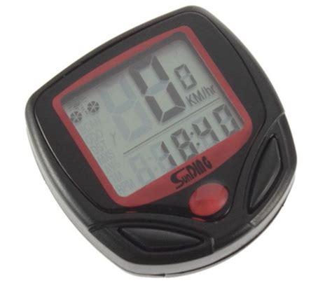 Speedometer Sepeda Digital Ada Jam Dan Waterproof 1 spedometer digital ayo ukur kecepatan gowes dengan