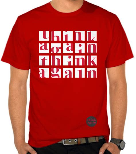 Kaos Oceanseven Casual Graphics 26 30 Jual Kaos Think Again Casual Lifestyle Satubaju