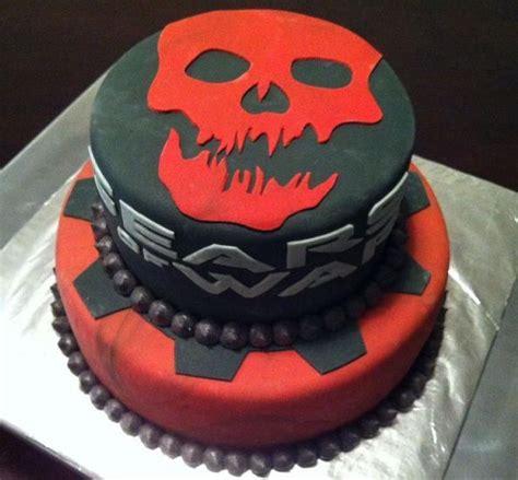 gears of war birthday cake from sweet dreams bakery tennessee gears of war cake by badabing cakes cake idea pinterest