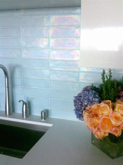 glass back splash kitchen update add a glass tile backsplash hgtv