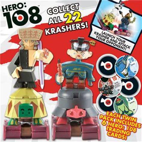 hero 108 toys kingdom krashers two figure pack from hero 108 wwsm