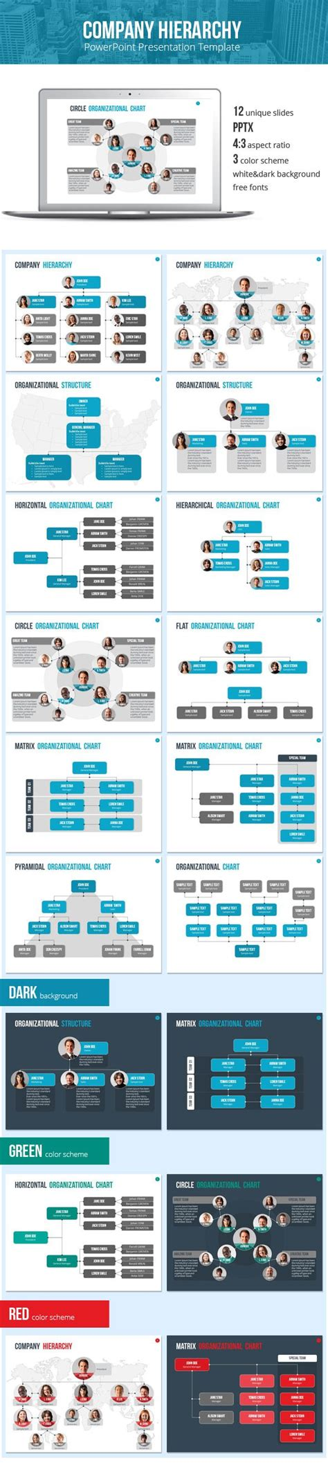 template hierarchy in organizational chart and hierarchy template business