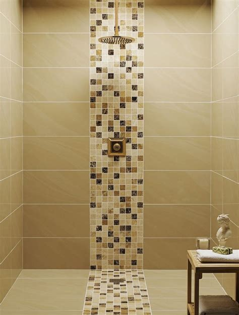 Bathroom With Mosaic Tiles Ideas 17 Best Ideas About Shower Tile Designs On Pinterest Bathroom Tile Designs Shower Niche And