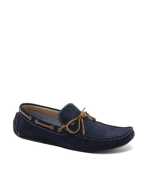 aldo loafers mens aldo tulla loafers in blue for lyst
