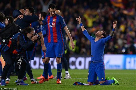 ousmane dembélé goals for barcelona barcelona 5 1 psg agg 6 5 barca complete comeback