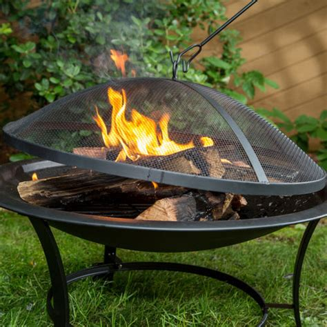 Buy Bonfire Pit Sun Joe 30 Inch Pit With Dome Screen And Buy Now