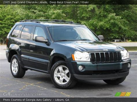 ford jeep 2005 beryl green pearl 2005 jeep grand laredo