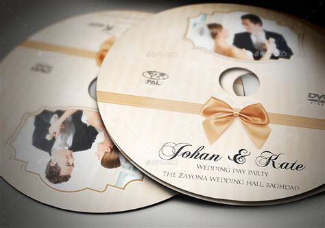 wedding dvd template wedding dvd cover and dvd label template vol 5 by