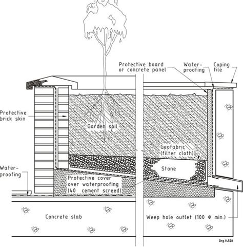 lon smith and elevated roofing figure 40 flat roof waterproofing details water