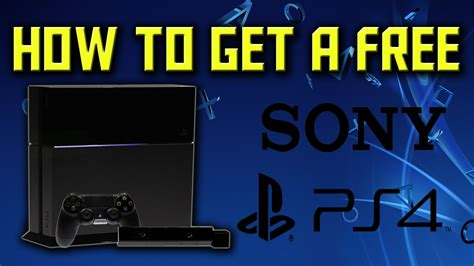 Giveaway Ps4 - how to get a free ps4 how to get a free ps4 with free