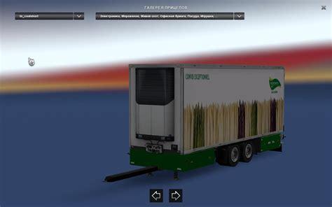 tandem trailers  bdf big mega pack   ets euro truck simulator  mods