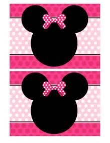 minnie mouse invitation templates blank