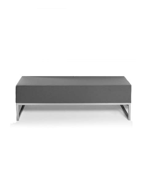 modular bench social seating soft reception seating
