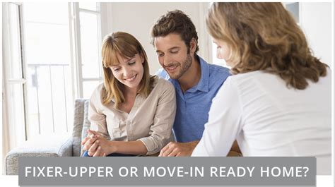 should i buy a fixer should you buy a fixer or move in ready home mysfba