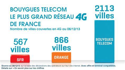 bouygues telecom ouvre r 233 seau 4g 224 l ensemble de ses