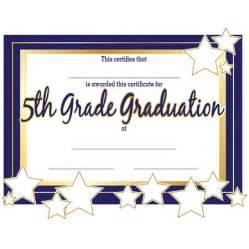 5th grade graduation certificate template 5th grade graduation certificates s