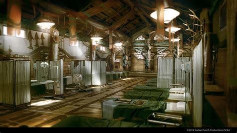 Home Interior Sites longhouse interior video games artwork