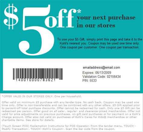 Can You Use Kohl S Cash To Buy Gift Cards - kohls coupons december 2014