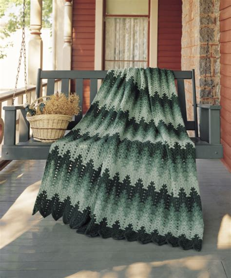 amish crochet patterns lacy chevron afghan from breaking amish return to amish