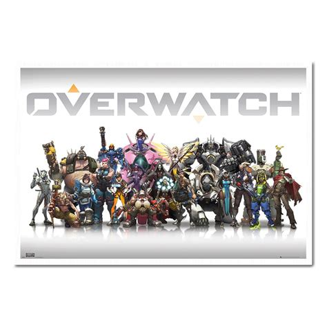 Poster Overwatch 08 overwatch characters poster iposters