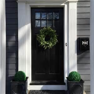 Front Door Black 10 Colors To Paint Your Front Door In 2016 A Clore Interiors
