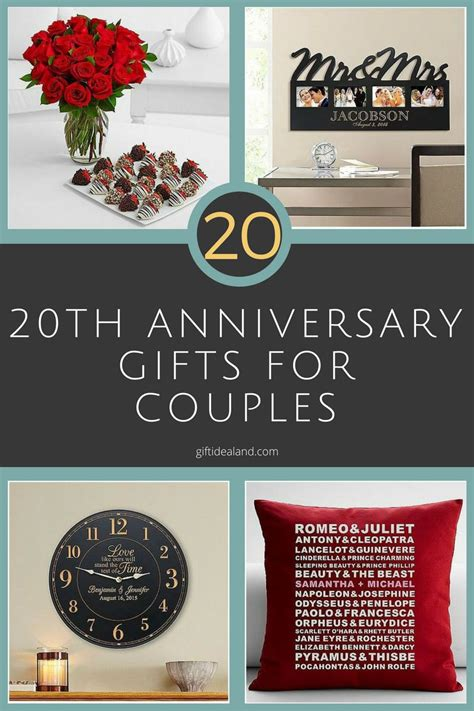 Wedding Anniversary Gifts For Couples by 31 20th Wedding Anniversary Gift Ideas For Him
