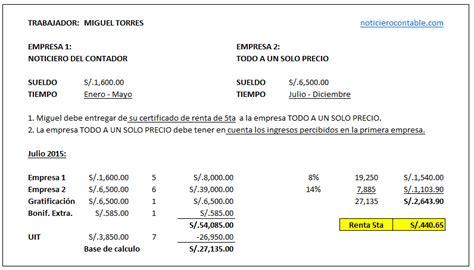 renta de quinta 2016 carta inductiva por inconsistencia en renta de 5ta