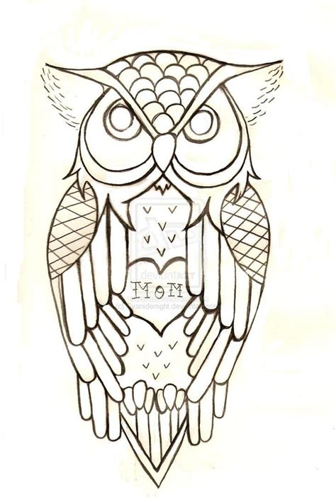 owl outline tattoo best 25 traditional owl tattoos ideas on sam