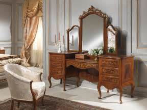 Shabby Chic Chest by Classic Louvre Bedroom Dressing Table With Mirror
