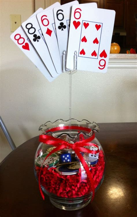 card themed decorations best 25 casino themed centerpieces ideas on