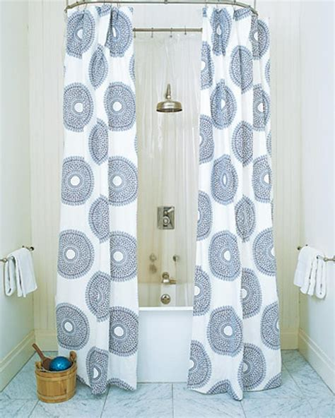 bathroom curtain ideas for shower 10 extra long shower curtain ideas rilane