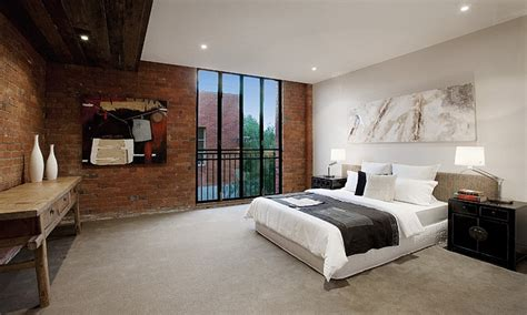 city style bedroom industrial style bedroom industrial style home