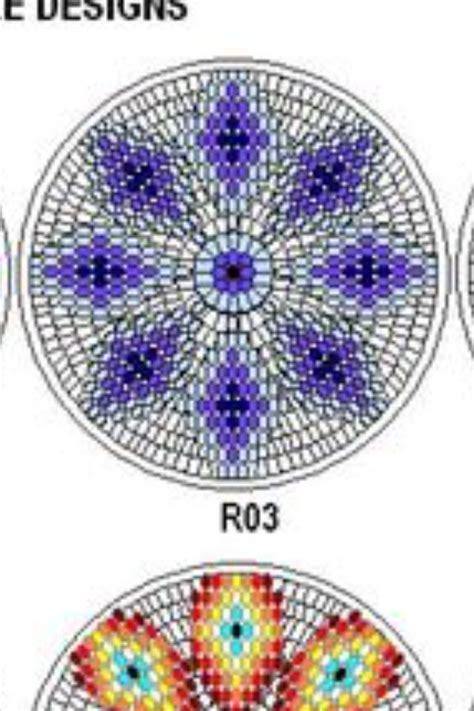 beaded medallion patterns southern beading medallion template beading