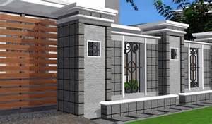 contoh gambar pagar rumah mewah minimalis interior rumah minimalis