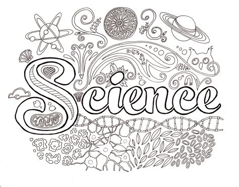 coloring pages earth science science coloring page getcoloringpagescom science