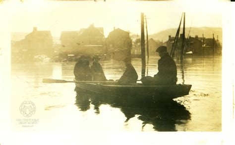 the 1936 flood 80 years later archiving wheeling - Rowboat In A Flood