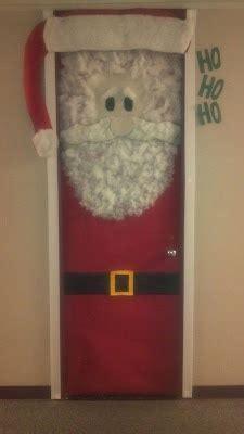 diy santa claus classroom door santa door decoration idea myclassroomideas
