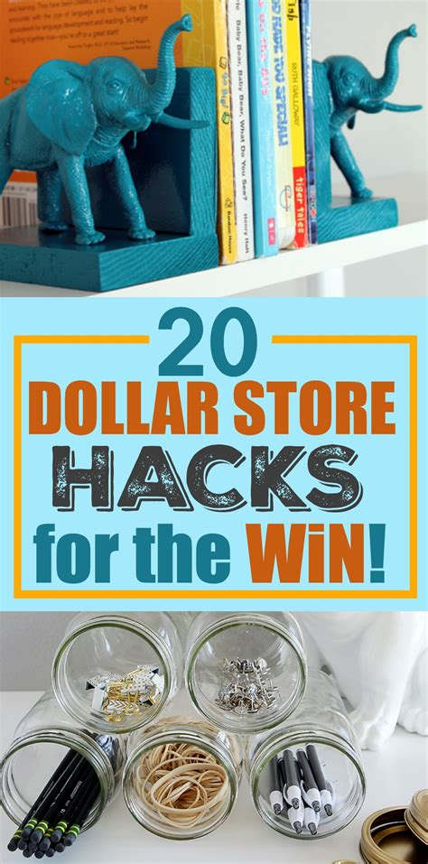dollar store hacks 20 dollar store hacks for the win a little craft in your