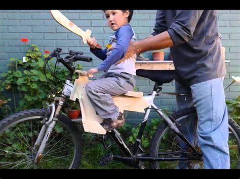 prototipo asiento  ninos adaptable  bicicleta de