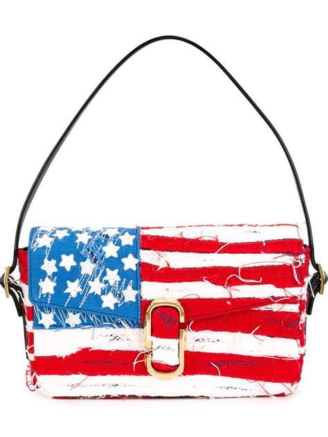 flag bag marc american flag shoulder bag in blue