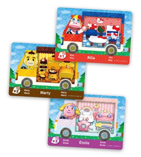 Animal Crossing Amiibo Card Template by Animal Crossing New Leaf Sanrio Collaboration Pack