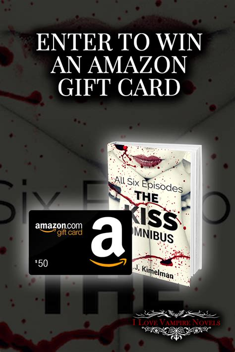 Ebooks Gift Card - win a 50 or 25 amazon gift card or ebooks from