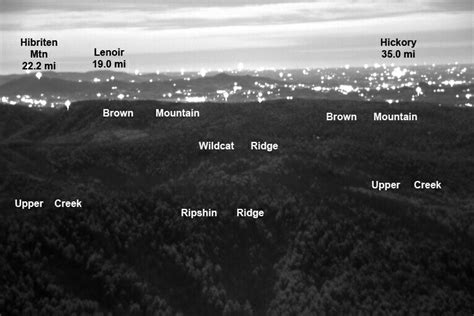 Brown Mountain Lights Nc by The Brown Mountain Lights