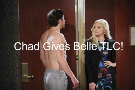 days of our lives spoilers chad and belle grow closer days of our lives dool spoilers belle crushed by