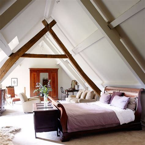 Bedroom Decorating Ideas Uk Neutral Country Loft Bedroom Bedroom Decorating
